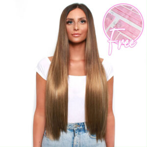 TOO GOOD TO BE TRUE 5 PIECE CLIP IN HAIR